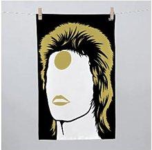 Bold & Noble - David Bowie Ziggy Tea Towel -