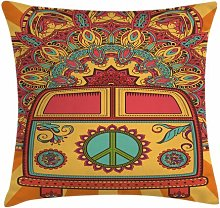 Bolde 70s Party Mini Van Ornaments Outdoor Cushion
