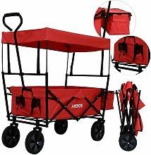 Bollard Trolley Foldable Roof Hand Trolley