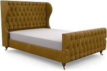 Bolsover Upholstered Bed Frame Fairmont Park Size: