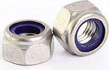 Bolt Base 12mm A2 Stainless Steel Nylon Insert