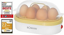 Bomann EK 5022 CB - Egg Boiler - Vanilla