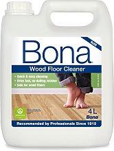 Bona 4L Wood Floor Cleaning Solution Refill