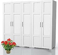 Bonamaison, Five Doors Wardrobe, Wardrobe, 18mm