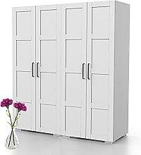Bonamaison, Four Door Wardrobe, Wardrobe, 18mm