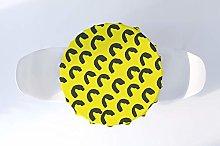 Bonamaison Kitchen Decoration, Round Tablecloth,