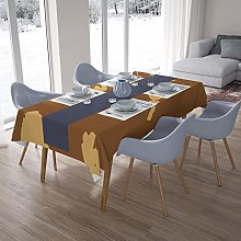 Bonamaison Kitchen Decoration, Tablecloth, Brown