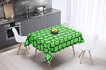 Bonamaison Kitchen Decoration, Tablecloth, Neon