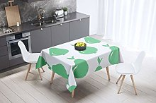 Bonamaison Kitchen Decoration, Tablecloth, Petrol