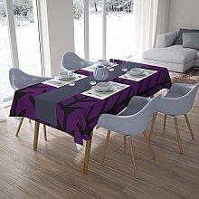Bonamaison Kitchen Decoration, Tablecloth, Purple,