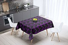 Bonamaison Kitchen Decoration, Tablecloth, Purple,