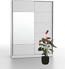 Bonamaison, Mirrored Eco Wardrobe with Sliding