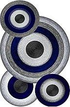 Bonamaison Rug with Digital Print, Multi-Colour,