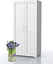 Bonamaison, Two Door Wardrobe, Wardrobe, 18mm MDF,