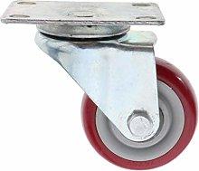 Bonarty Metal+PVC Caster Wheels Storage BIN Swivel