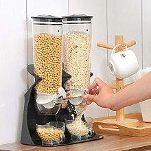 BonChoice 3L Double Cereal Dispenser Machine for