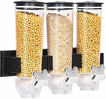 BonChoice 4.5L Triple Cereal Dispenser Machine Dry