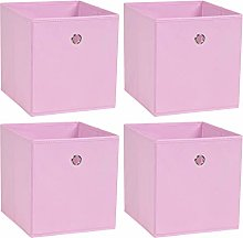 BonChoice Foldable Storage Cubes Boxes Pack of 4