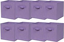 BonChoice Foldable Storage Cubes Boxes Pack of 8