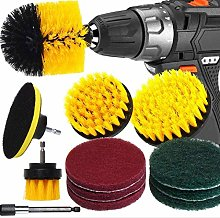 Bond Hardware 12 Piece Drill Brush Cleaning Tool