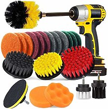 Bond Hardware 22 Piece Drill Brush Cleaning Tool