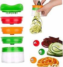 Bongles Vegetable Fruit Spiral Slicer Cutter