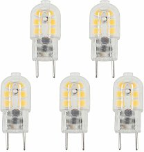 Bonlux 5-Packs 3W 12V G6.35 LED Light Bulb Cool