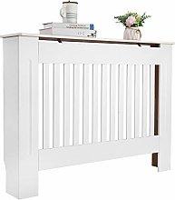 Bonnlo Radiator Cover Cabinet MDF Wooden Cabinet