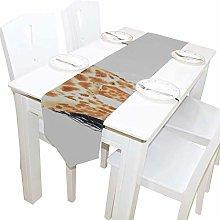 BONRI Long Tall Pretty Giraffe Dresser Shawl Cloth