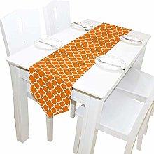 BONRI Table Runner, Hipster Orange Quadruple