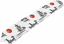 BONRI Table Runner Vintage Japanese Tablecloth