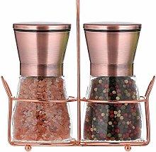 bonris Copper Stainless Steel Salt and Pepper