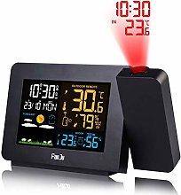 Bontand Projection Alarm Clock for Bedrooms with