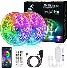 Bonve Pet LED Strip Lights, 12M RGB Light Strips