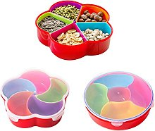 BoodTag Plastic Food Storage Container with Lid