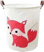 BOOHIT Storage Baskets,Canvas Fabric Laundry