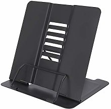 Book Stand, Cookbook Reading Rest Holder with 6