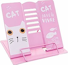 Book Stand, Metal Cat Textbook Display Stand for