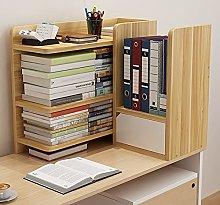 Bookcase Shelf Simple Desk Creative Bookshelf