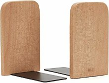 bookend supports Wood Bookends Pack Of 1 Pair
