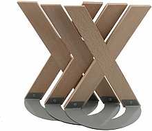 Bookends X-shaped Solid Wood Bookends Large Book