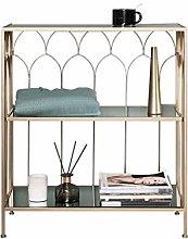 Bookshelf Nordic Wrought Iron Shelf Corner Shelf