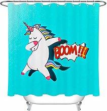 Boom Unicorn Dancing Shadow Polyester Waterproof