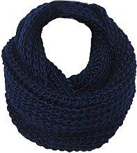 Boomly Unisex Women's Knit Scarf Loop Scarf