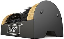 Boot Brush Cleaner Floor Mount Scraper Commercial