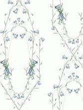 Boråstapeter Blåklocka Wallpaper, Blue 6233
