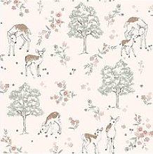 Boråstapeter Deer Love Wallpaper