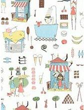 Boråstapeter Krakel Spektakel Wallpaper