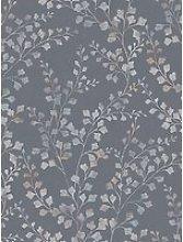 Boråstapeter Leaf Silhouette Wallpaper