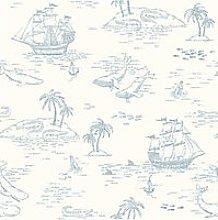 Boråstapeter Treasure Island Wallpaper